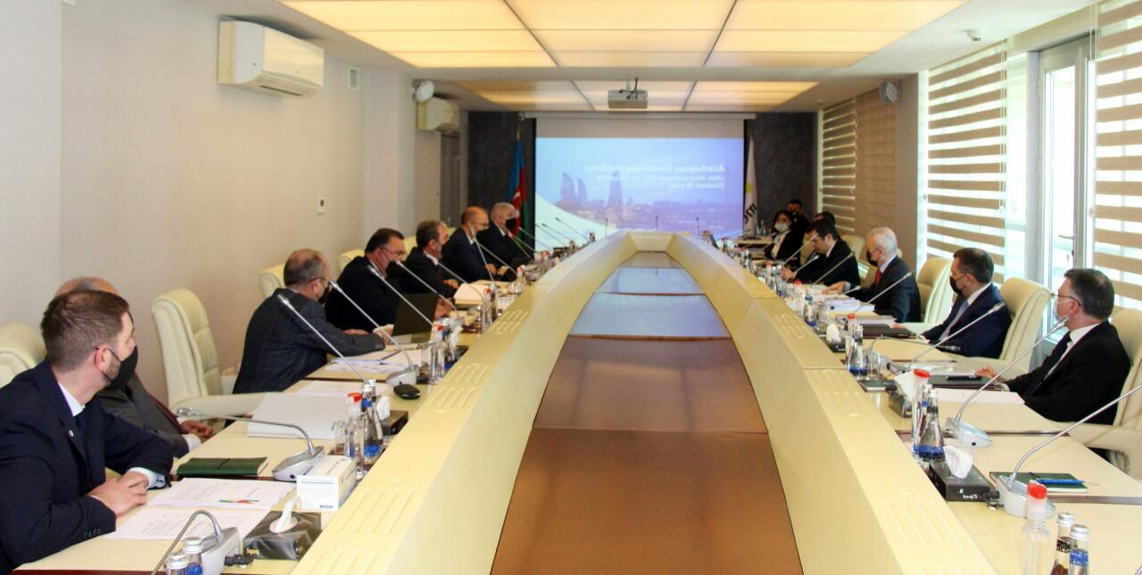 Состоялось первое заседание Наблюдательного совета ЗАО «Бакинский метрополитен»