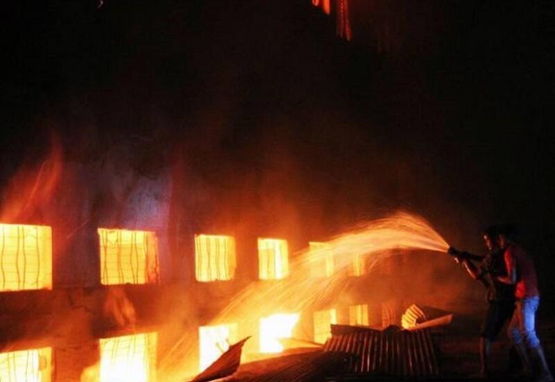 Пожар в больнице в Индии