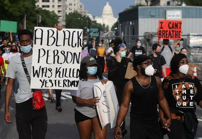 Новая волна протестов в США против полицейского насилия и расизма