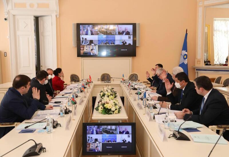 Делегация парламента Азербайджана приняла участие в мероприятиях в рамках сессии МПА СНГ