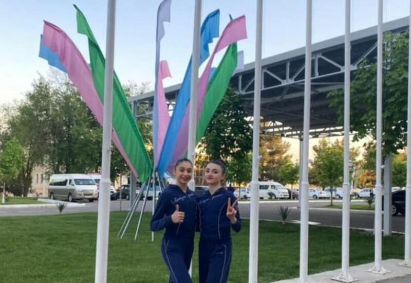 Азербайджанские гимнастки приняли участие в Кубке мира в Ташкенте