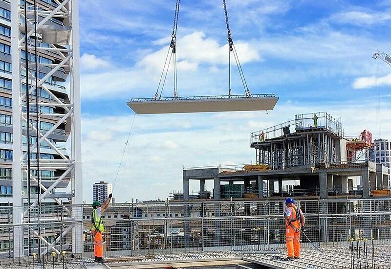 Объём кредитования строительного сектора в Азербайджане существенно возрос
