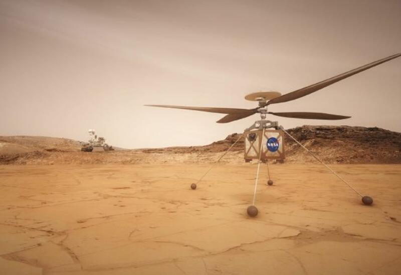 NASA сказала, когда запустит первый вертолет на Марсе