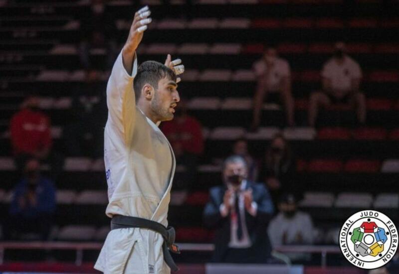 Азербайджанский дзюдоист выиграл бронзу ЕВРО в Португалии