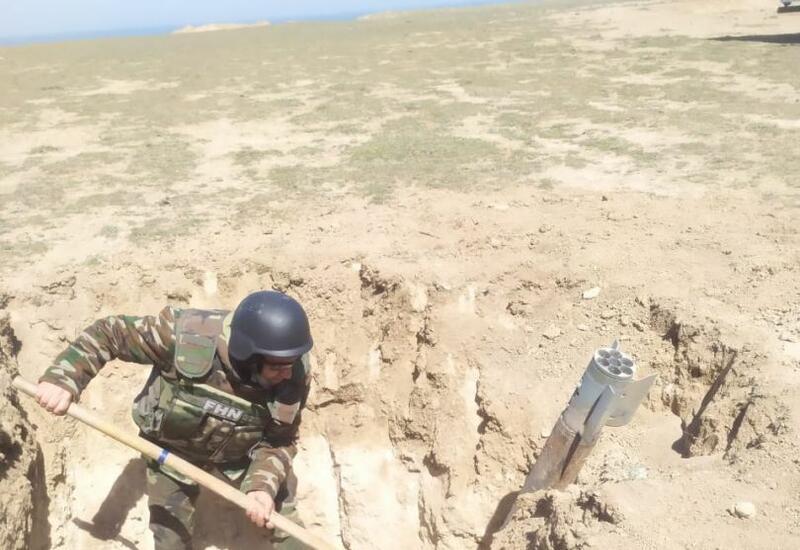 В поселке Гилязи Хызынского района был найден снаряд
