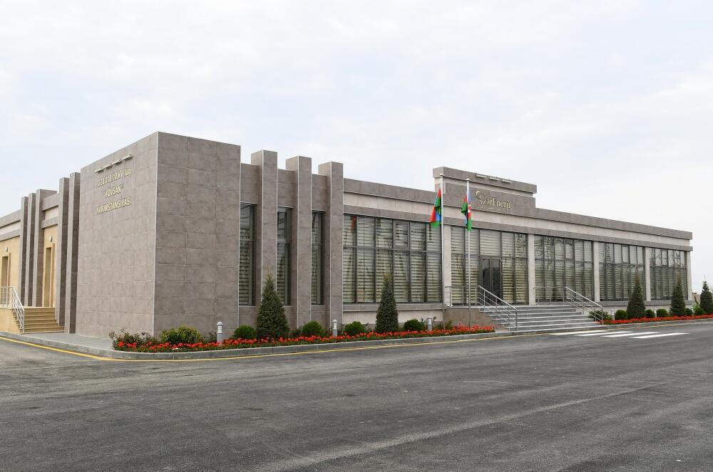 Президент Ильхам Алиев открыл реконструированные подстанции «Говсан» и «Маштага»