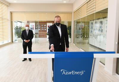 Президент Ильхам Алиев открыл реконструированные подстанции «Говсан» и «Маштага» - ФОТО - ВИДЕО