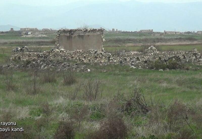 Село Исмайылбейли Агдамского района