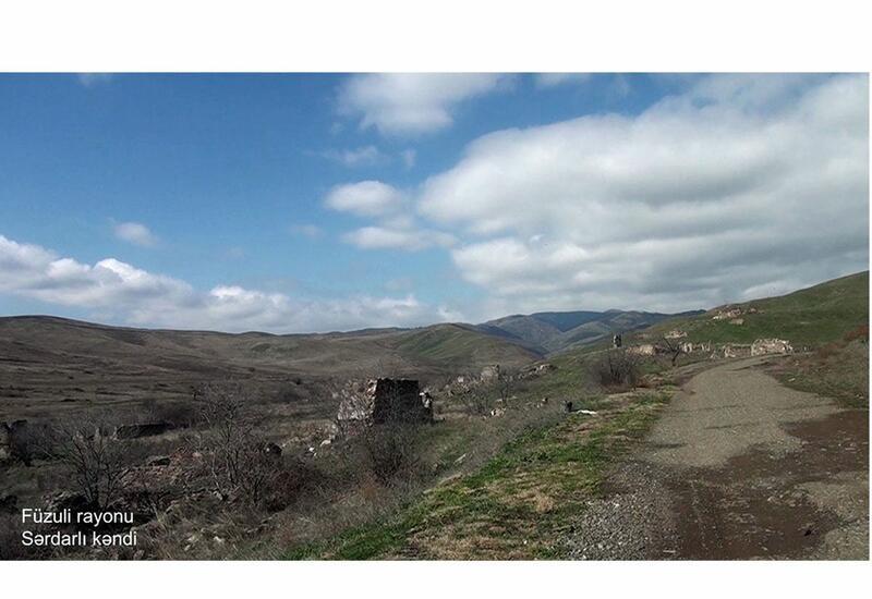 Село Сардарлы Физулинского района