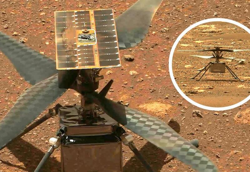 Беспилотный вертолет NASA успешно совершил первый полет на Марсе