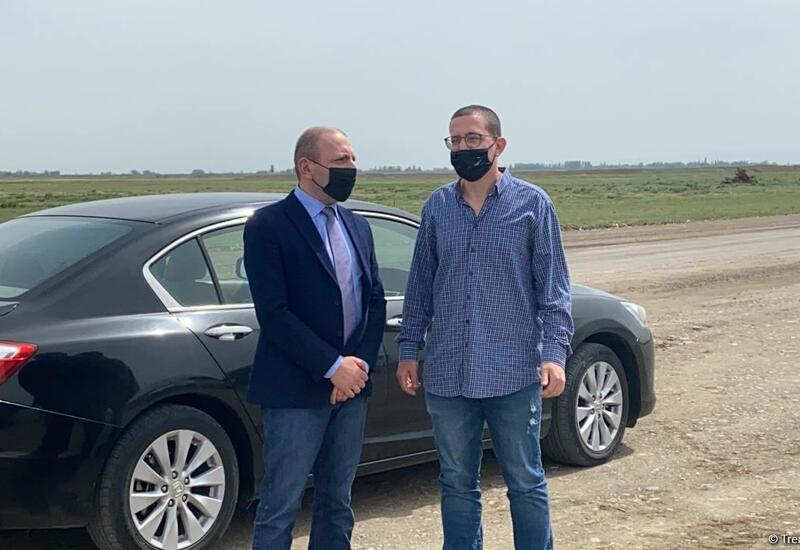 Началась поездка израильских журналистов в Агдам