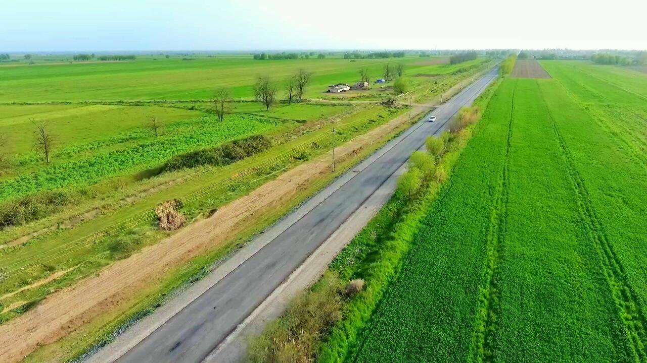 Завершается строительство на дороге Агджебеди-Ходжавенд