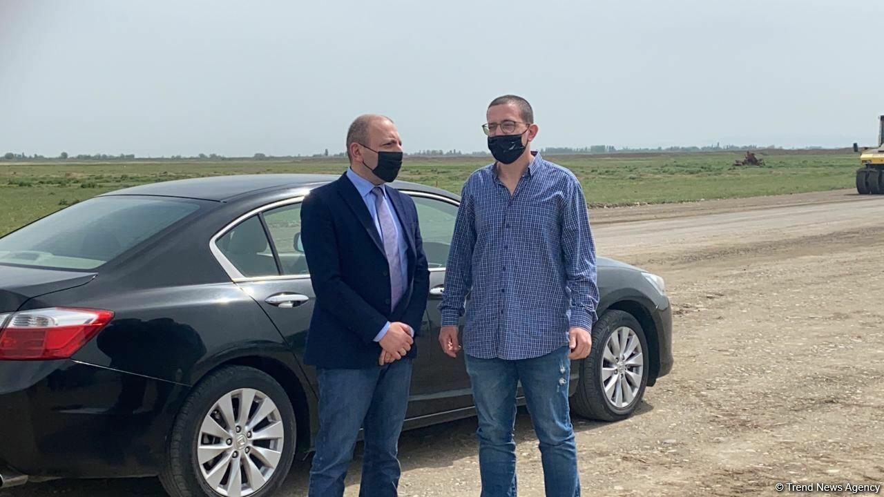 Завершилась поездка израильских журналистов в Агдам