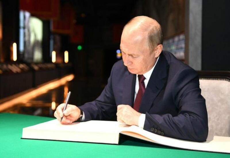 Путин назначил нового представителя РФ в группе по Каспию