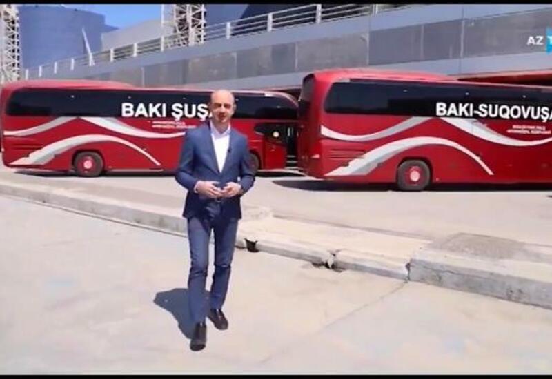 Вот на каких автобусах можно будет добраться из Баку в Шушу, Суговушан и Губадлы