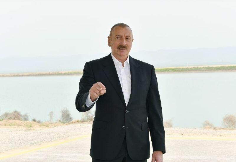 Prezident İlham Əliyev: Bizim planlarımız Ermənistanı beynəlxalq məhkəmələrə verməkdir