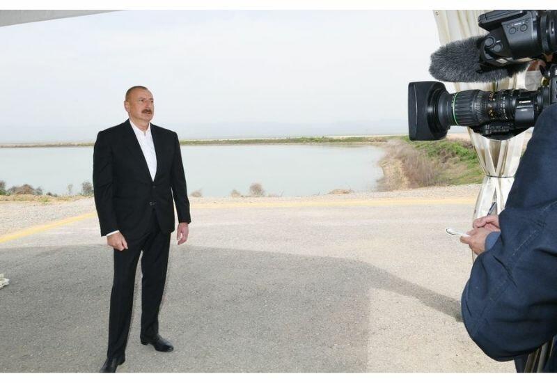 Президент Ильхам Алиев: Основная цель создания крупных агропарков - обеспечение продовольственной безопасности