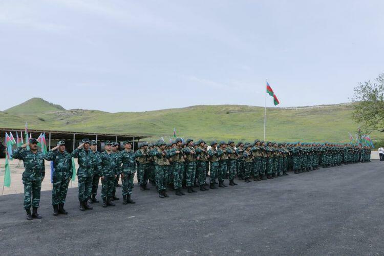 На границе с Арменией открылась еще одна воинская часть