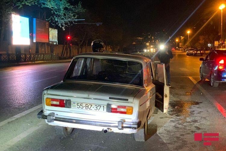 В Баку участники ДТП избили виновника аварии