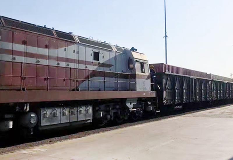 Второй контейнерный поезд из Китая прибыл в Баку