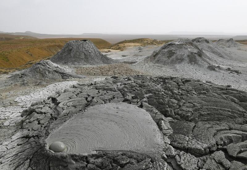 Сверху здание Туристического комплекса грязевых вулканов будет выглядеть как кратер