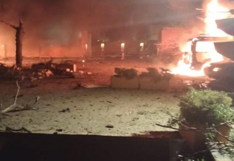 Взрыв в отеле в Пакистане