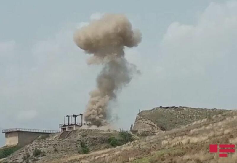 Как обезвреживают армянские мины в Суговушане