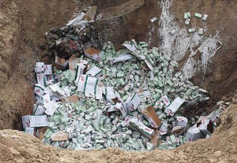 В этом году обезврежено почти 220 000 кг продукции, непригодной к употреблению
