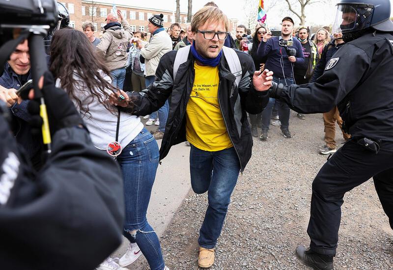 В Берлине задержали более 150 человек