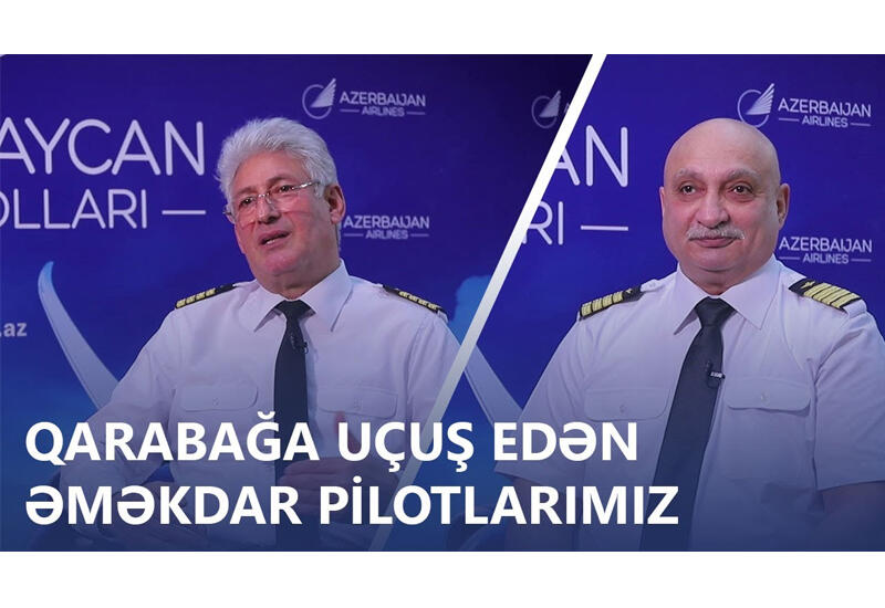 Заслуженные пилоты Азербайджана с нетерпением ждут, когда снова полетят в Карабах
