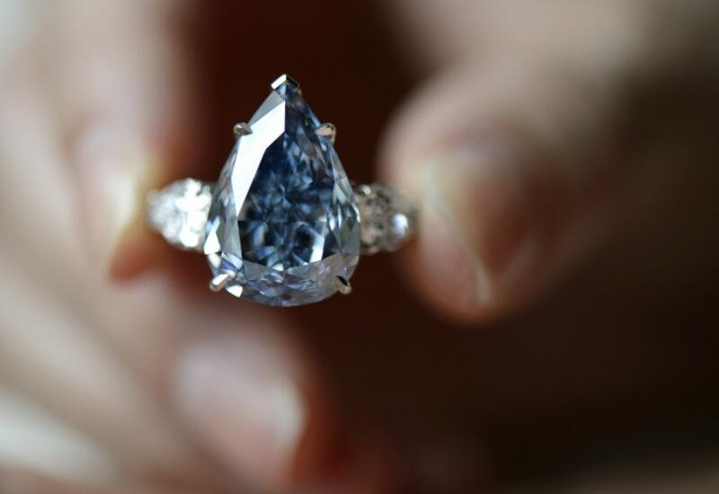 Кольцо с самым крупным бриллиантом Австралии продали за рекордную сумму