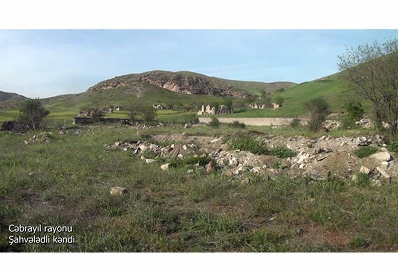 Минобороны показало еще одно разрушенное село в Джебраиле