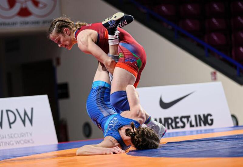 Мария Стадник завоевала золото чемпионата Европы по вольной борьбе