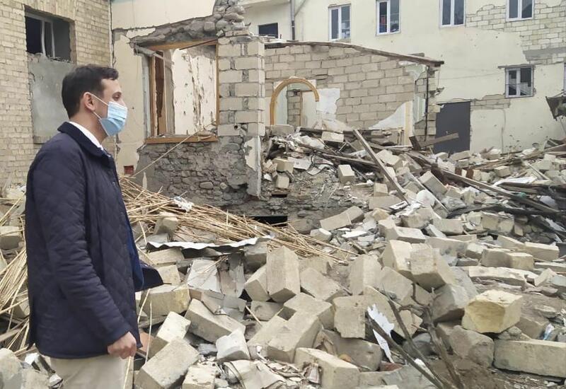 Увиденное нами в Гяндже является военным преступлением