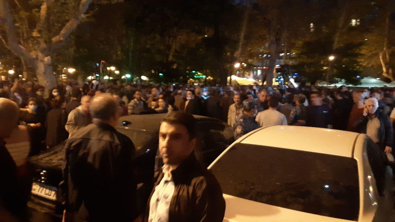 В Ереване произошли стычки