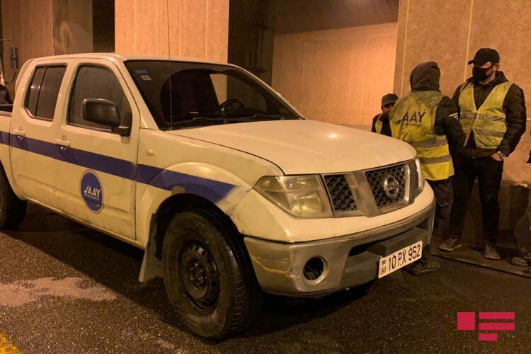 В Баку в тоннеле произошло тяжелое ДТП,