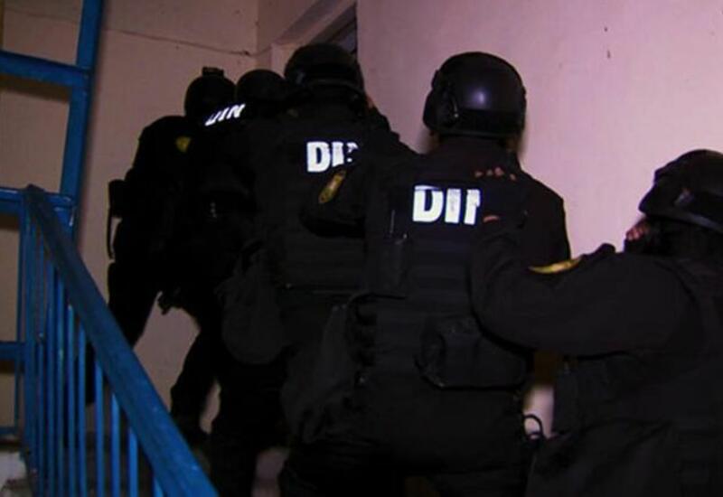 Полицейская операция в Баку