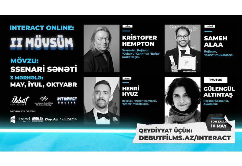 Обладатели премий Оскара и Каннского фестиваля представят в Азербайджане второй сезон INTERACT Online