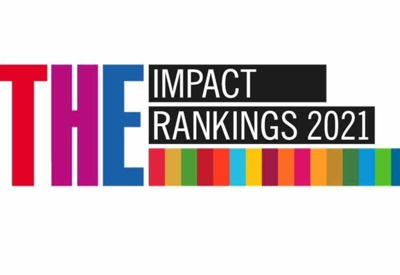 """AzMİU """"Times Higher Education Impact Rankings 2021"""" reytinq cədvəlində dünyanın ən yaxşı universitetləri arasında"""
