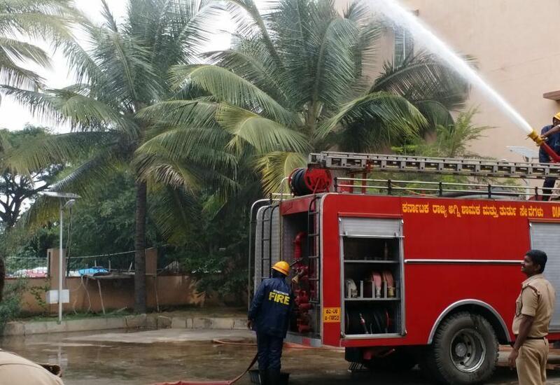 В больнице в Индии произошел пожар