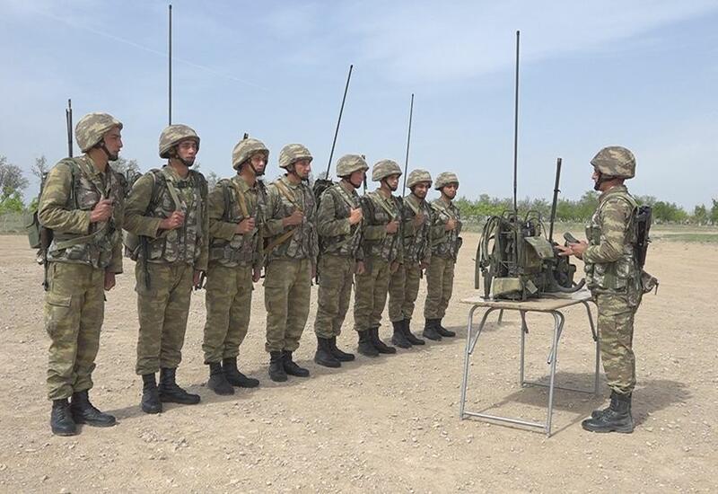 В войсках Нахчыванского гарнизона проведены тактико-специальные занятия