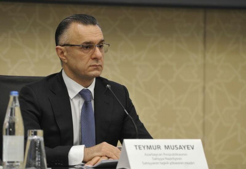 Теймур Мусаев назначен первым заместителем министра здравоохранения