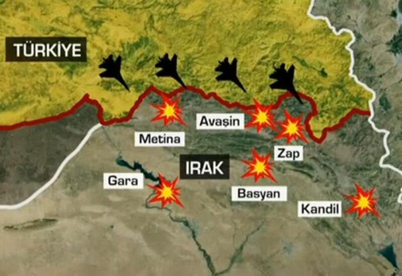 Турция начала широкомасштабную операцию против террористов РПК в Ираке