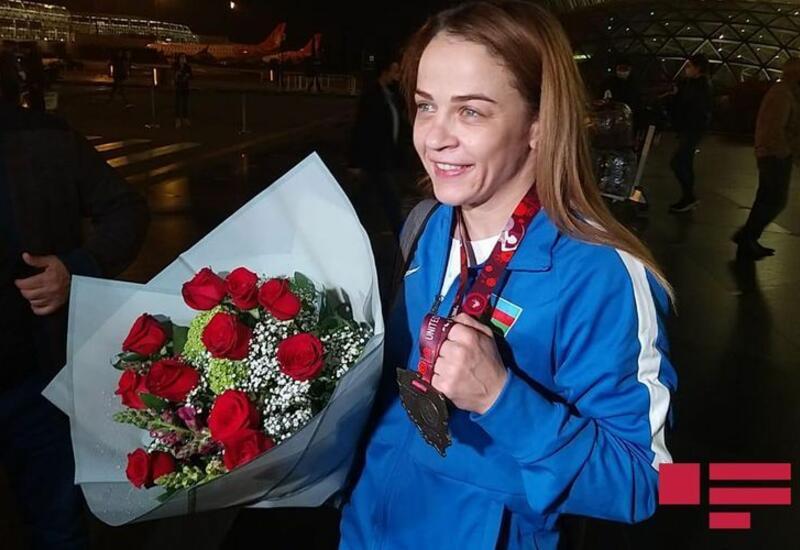 Восьмикратная чемпионка Европы Мария Стадник вернулась в Баку