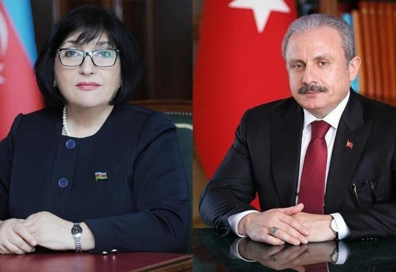 Состоялся телефонный разговор между спикерами парламентов Азербайджана и Турции