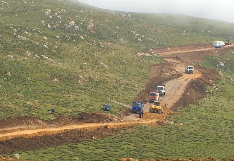 Продолжается строительство новой дороги из Губы в Хыналыг