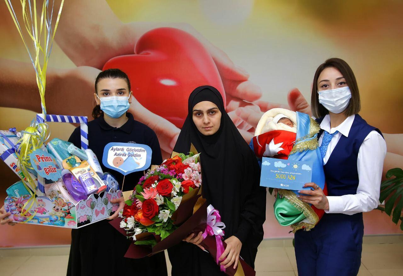Фонд YAŞAT откроет счет в банке на имя новорожденного ребенка еще одного шехида