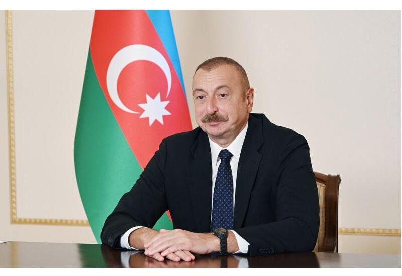 Президент Ильхам Алиев пригласил президента Всемирного экономического форума посетить с визитом Азербайджан