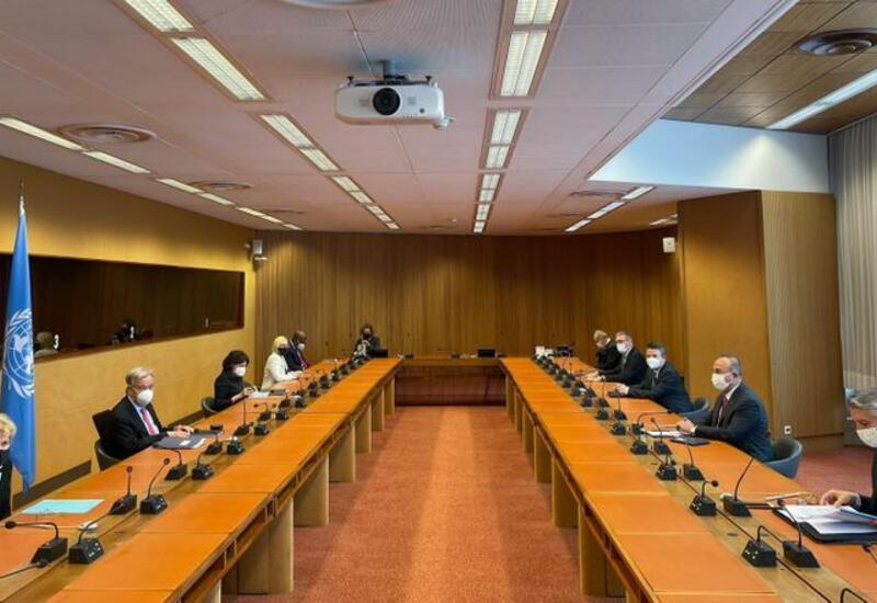 Чавушоглу встретился с генсеком ООН в Женеве