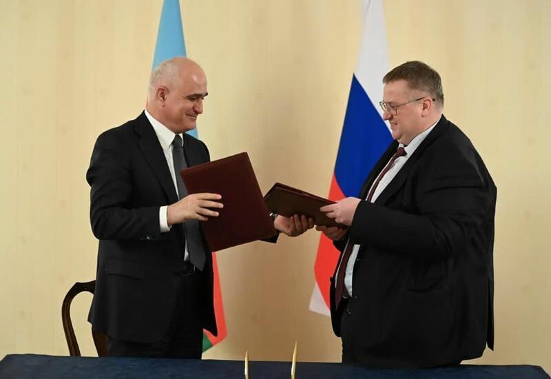 Подписан Протокол по вопросам экономического сотрудничества между Азербайджаном и Россией